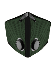 Maska antysmogowa RZ Mask M2 Mesh Forest Green
