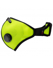 Maska przeciwpyłowa RZ Mask M2 Mesh Safety Yellow (filtr węglowy)