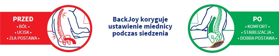 Siedzisko BackJoy Mini
