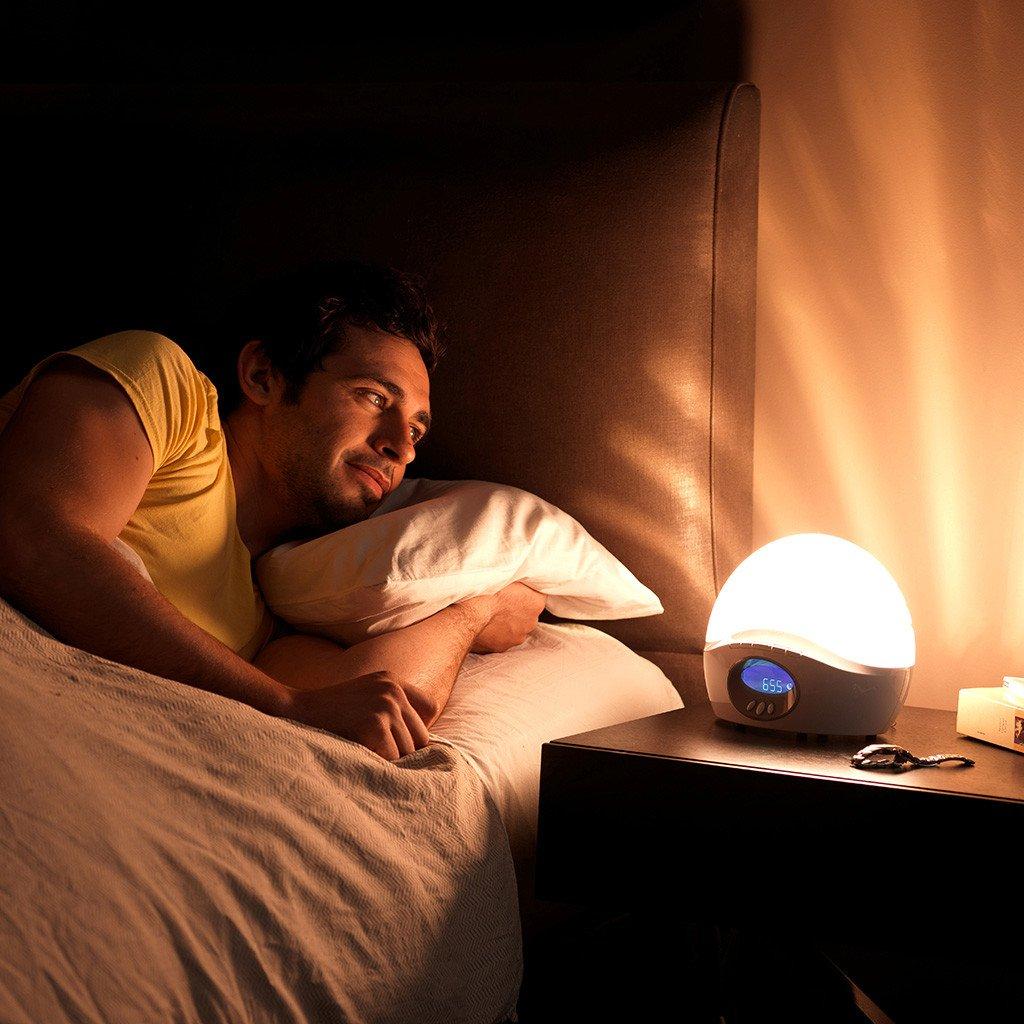 Świetlny budzik - Symulator switu - Bodyclock Actie