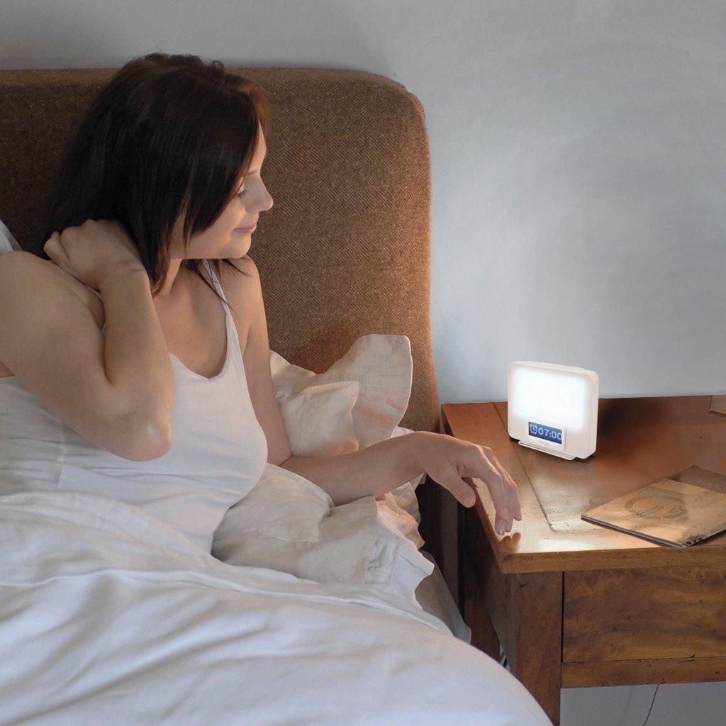 Zest - lampa antydpresyjna i świetlny budzik