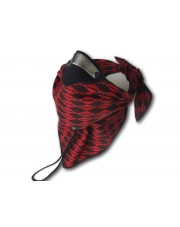 Respro Bandit Scarf Red Black