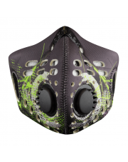Maska antysmogowa RZ Mask M1 Digitech Green