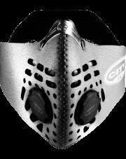 Maska antysmogowa odblaskowa Respro City Nitesight Silver